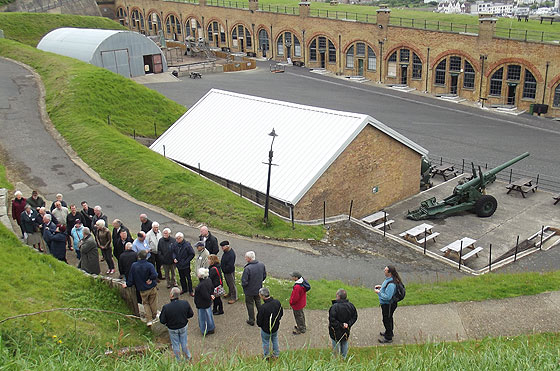 Guided tour of Newhaven Fort